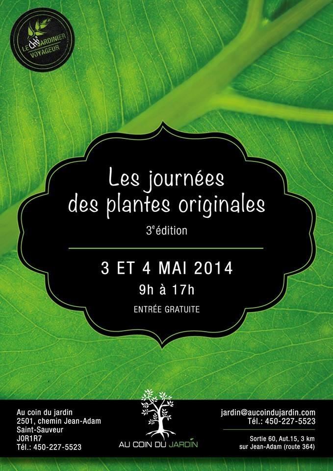 Journées des plantes originales