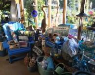 Boutique en bleu!