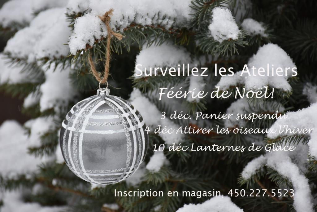 Ateliers Féérie de Noël 2016