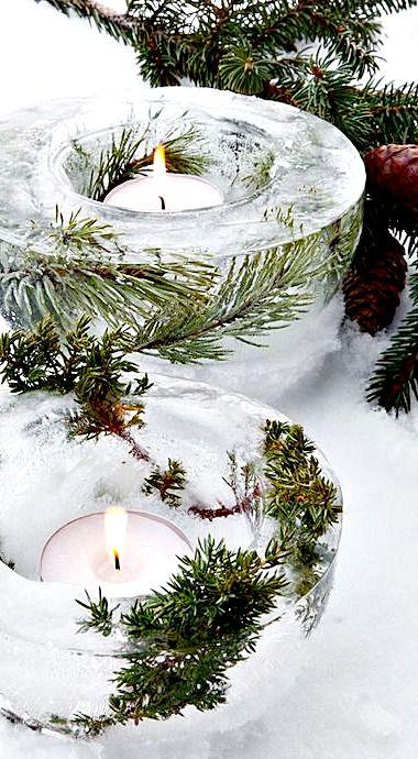lanternes de glace